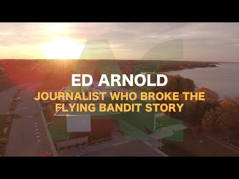 Speaker Series - The Flying Bandit with Ed Arnold
