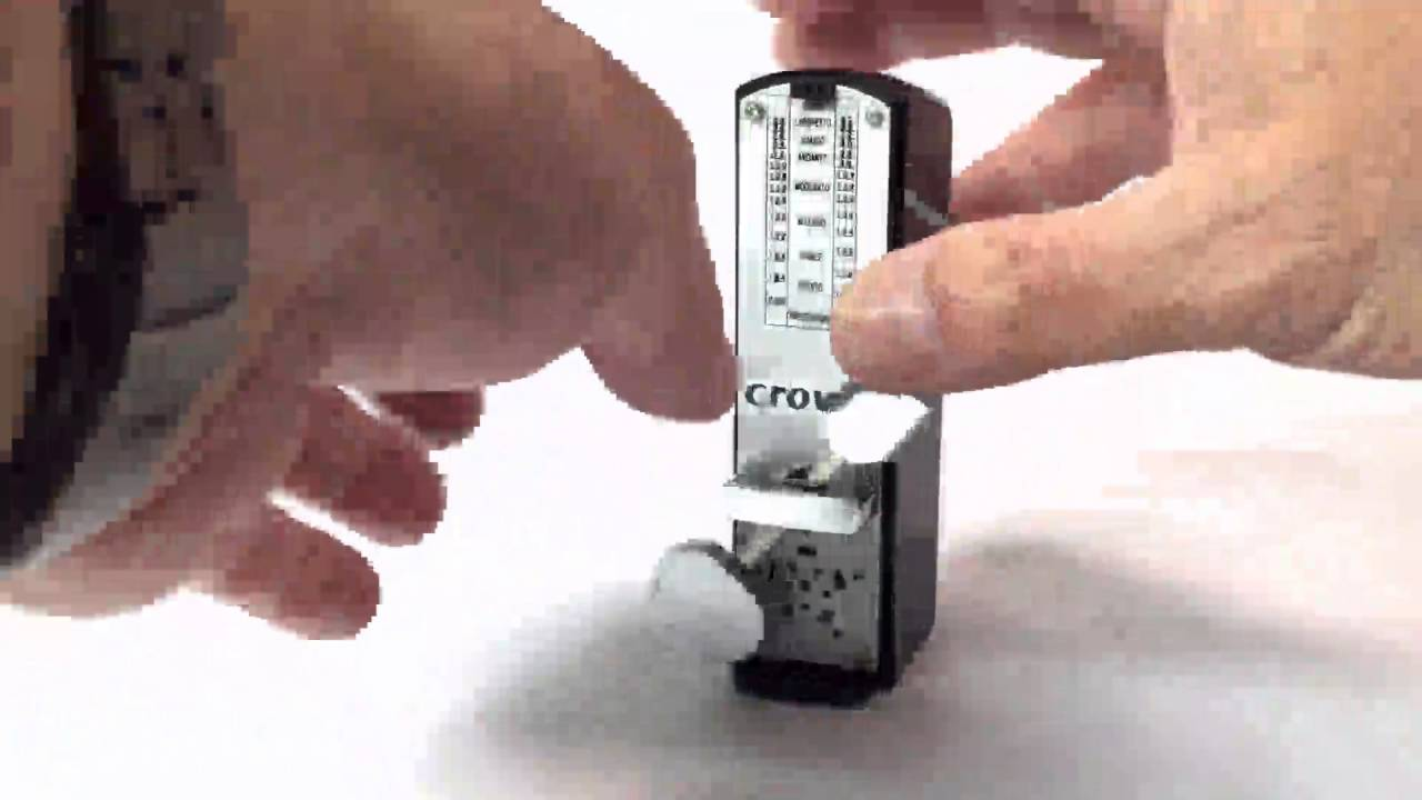 Crowlee Universal Mechanical Metronome Review Clear Sound Beginning Circuitry Build A Beat Well Designed And Easy To C