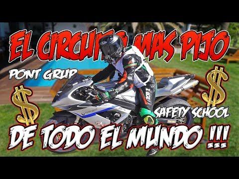 EN EL CIRCUITO MAS EXCLUSIVO DEL MUNDO CON PONT GRUP SAFETY SCHOOL  !!!