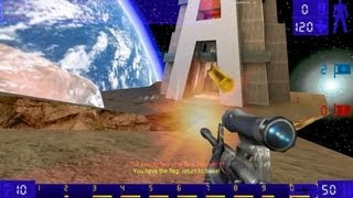 Unreal Tournament GOTY CTF online gameplay on Facing Worlds map