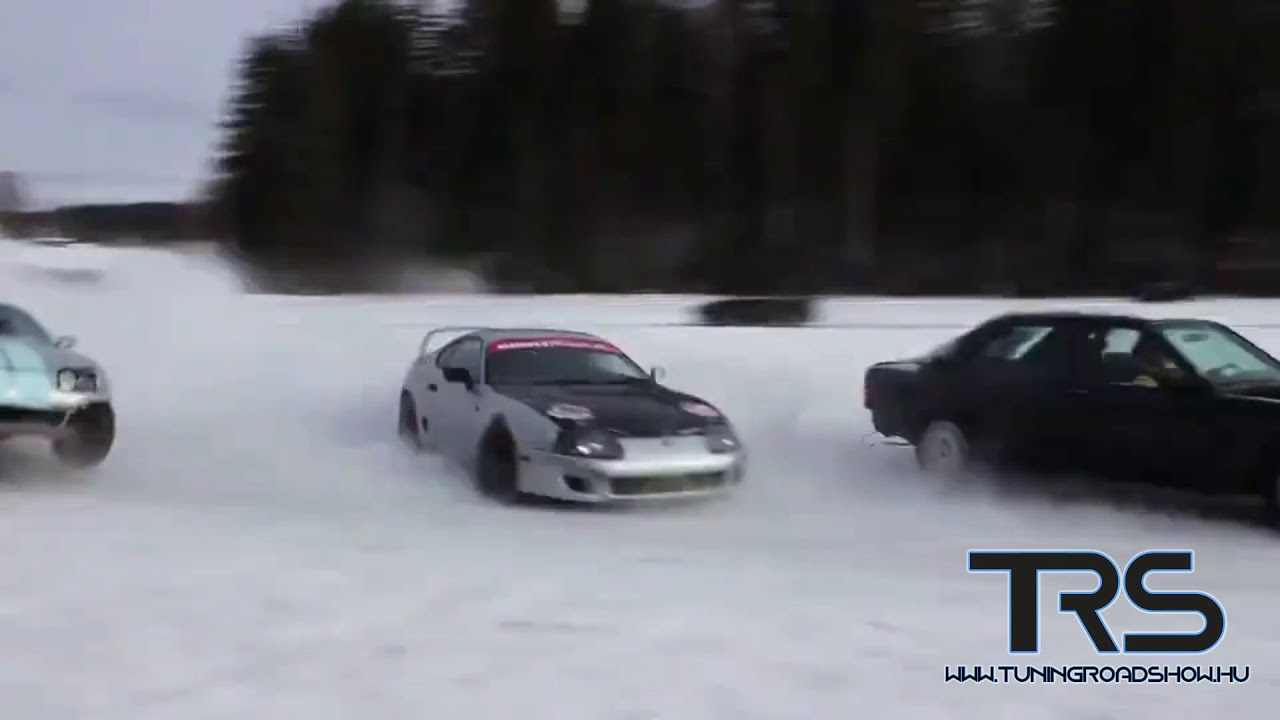 Amazing Snow Drift