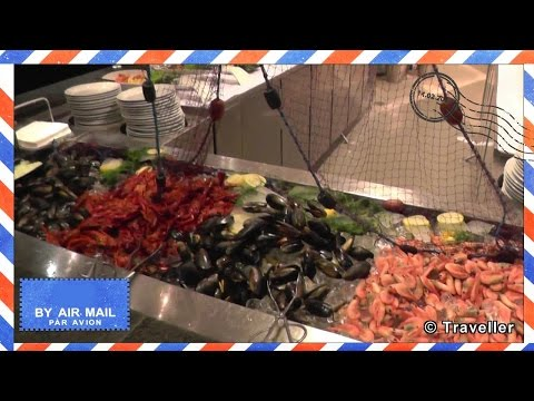 DFDS Seaways Dinner Buffet - Oslobåden aften buffet - Seven Seas Restaurant - DFDS Minicruise