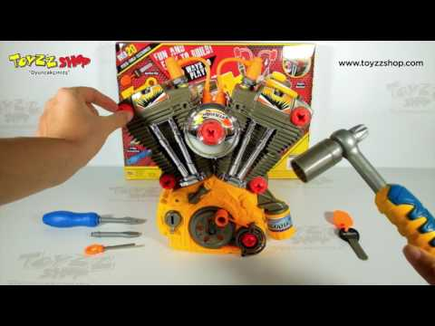 Araba Motoru Tamir Seti - Car Repair Toy