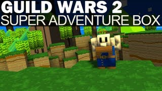 Guild Wars 2 - Super Adventure Box - 2 - Saving The Shopkeeper (Feat. Queen Bee Dog)