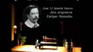 ENRIQUE GRANADOS - Jota Aragonesa (12 Danzas españolas) - Carlos Gallardo (piano)