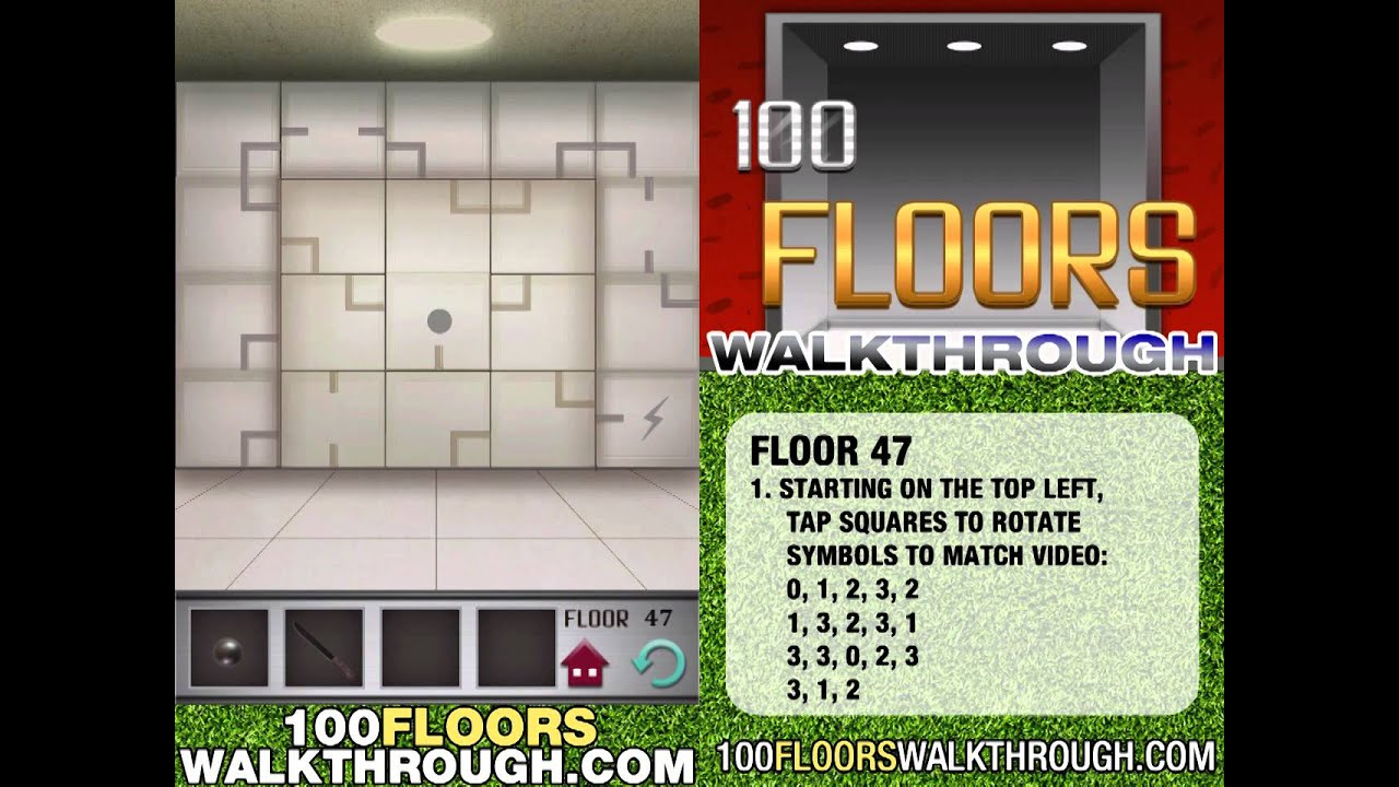 Floor 47 Walkthrough 100 Floors Walkthrough Floor 47