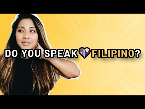 DO YOU SPEAK FILIPINO? | FILAM FANGIRL