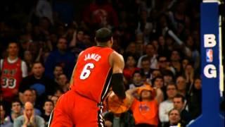 LeBron James' Top 10 Plays of 2012-2013 Regular Season