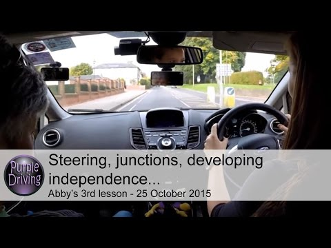 Steering, junctions, developing independence.
