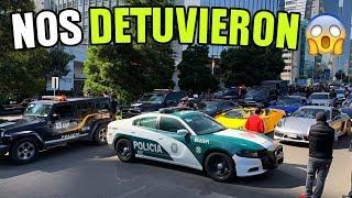 NOS DETIENE LA POLICIA Y CIERRA LAS CALLES DE MÉXICO    ALFREDO VALENZUELA