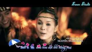 Tình Yêu Màu Nắng - Đoàn Thúy Trang ft. Big Daddy  (Lyric Kara MV) Full HD