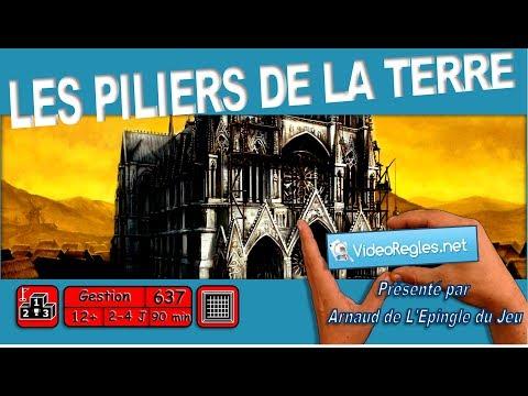 """Vidéorègle Jeu de Société """" Les Piliers de la Terre """" par Arnaud (#637)"""