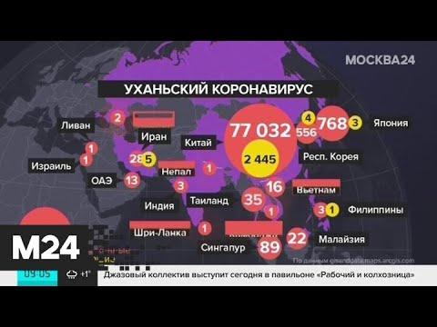 ВОЗ назвала число зараженных коронавирусом за пределами Китая - Москва 24
