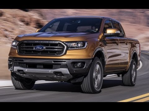 2019 Ford Ranger revealed with available AEB, 10-speed auto