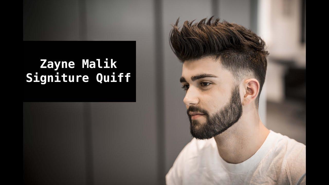 zayn malik signature hair tutorial | mens summer hairstyle