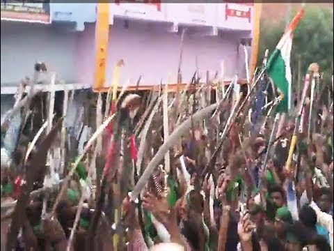 PowerFull Moharram Juloos In Arwal Bihar 2017