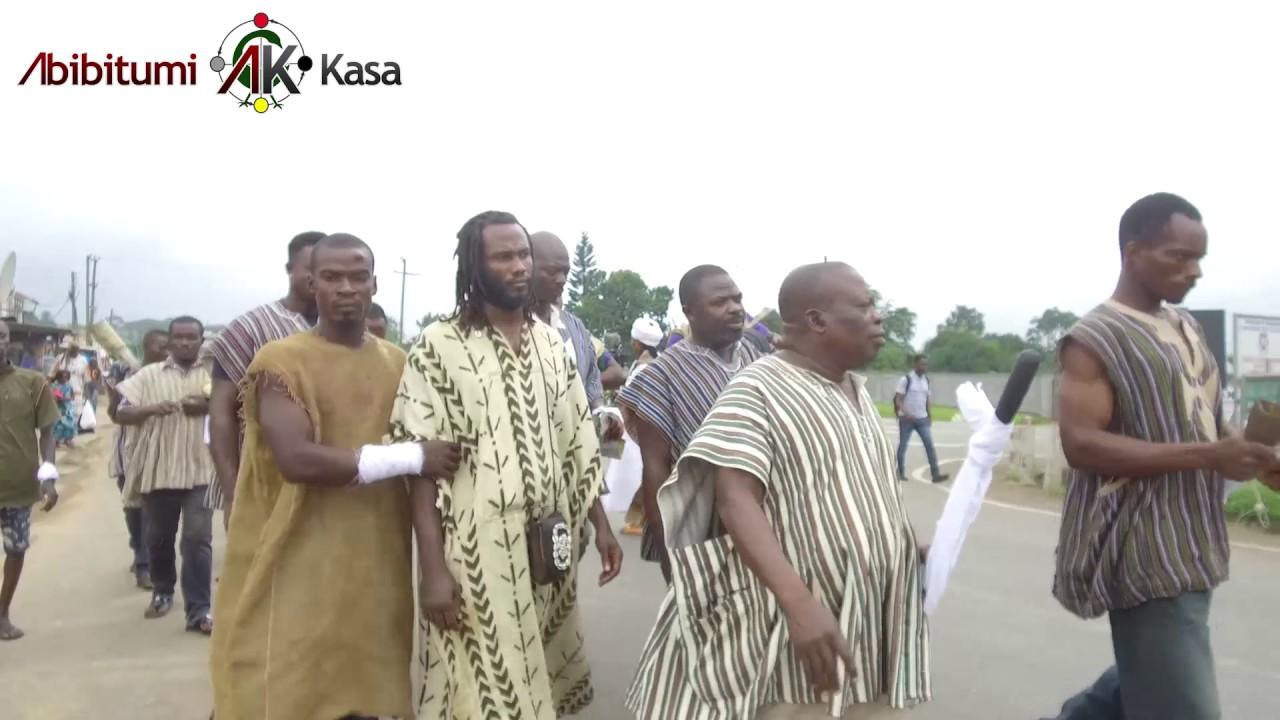 Dr. Ọbádélé Kambon's Enstoolment Banmuhene Kyidɔmhene - Akuapem Mampɔn (Uncut - Multiple An