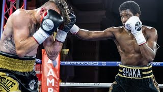 Shaka Thompson 4th professional bout