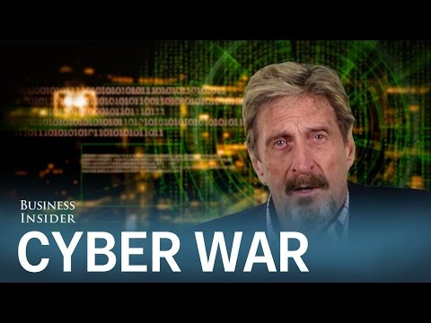 JOHN MCAFEE: This is why the US is losing the 'cyber war' to China and Russia