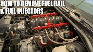 How To Remove LS Fuel Rail & Injectors