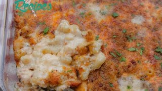 Lobster Mac and Cheese with Bacon Bread Crumbs - I Heart Recipes