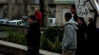 gaza الجالية المغربية في جنوب فرنسا مع غزة في محنتها levigan