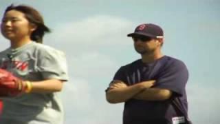 Baseball Video Highlights   Clips   Wakefield meets aspiring young female knuckleballer   Video   MLB com  Multimedia