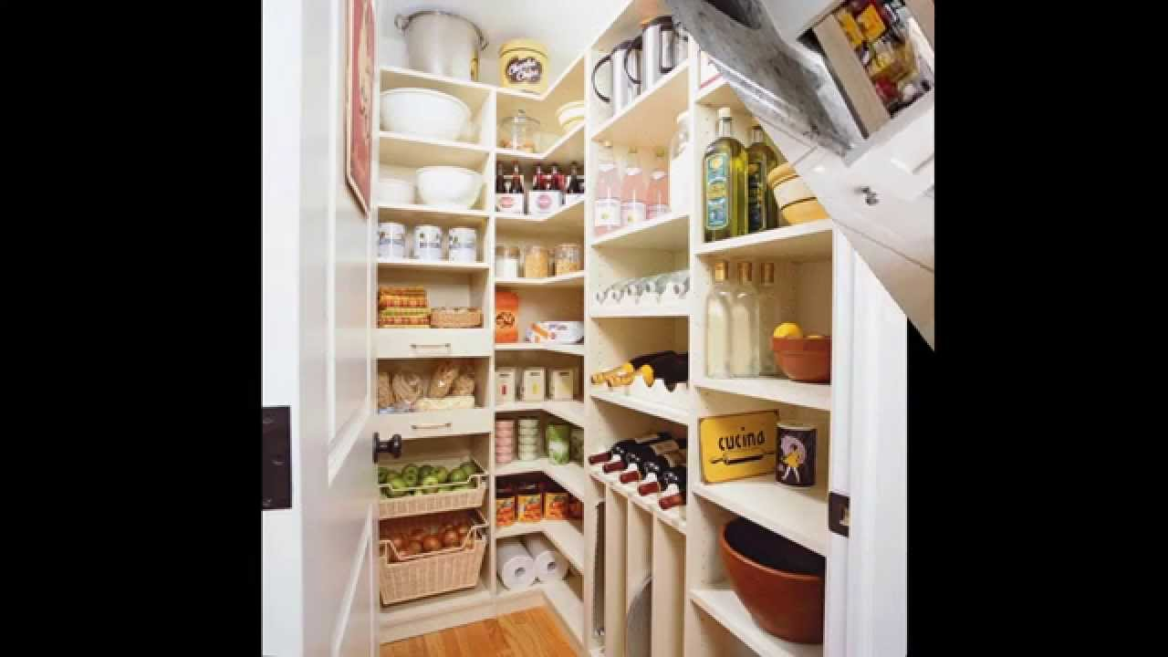 Simple Small Kitchen Pantry Design