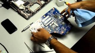 видео Ремонт ноутбука Acer TravelMate 2470