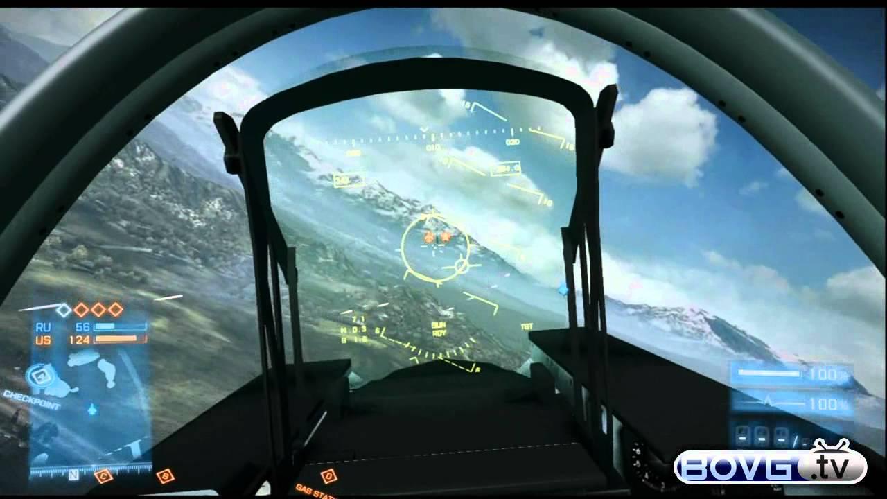 Battlefield 3 - Fighter Jet Plane Gameplay! [HD] - YouTube