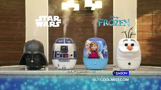 CoolMist Humidifiers Disneys Star Wars and Frozen Themed