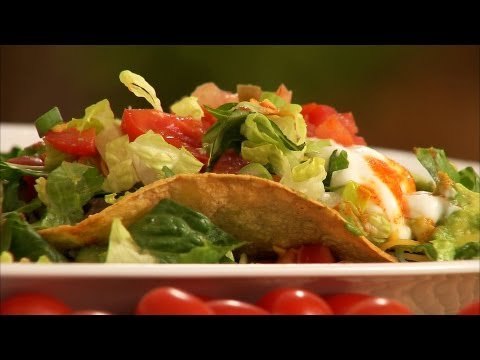 Healthy Black Bean Tostada Recipe