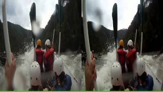 "3D Ocoee River Whitewater Rafting 11 ""Double Suck"""