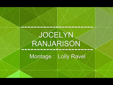 JOCELYN RANJARISON -Manana Anao-