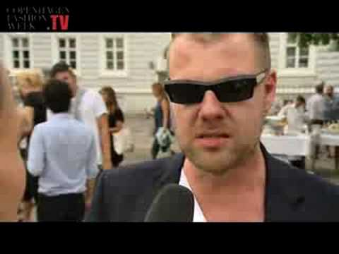 Copenhagen Fashion Week SS09: Interview with Jonny Johannson