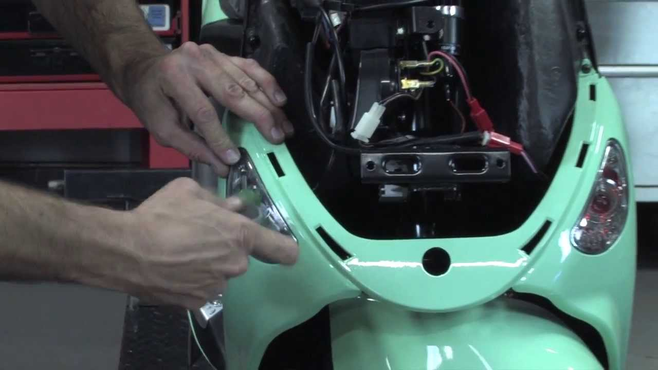 Add Running Lights To Your Genuine Buddy Scooter Youtube Brake Wiring Diagram