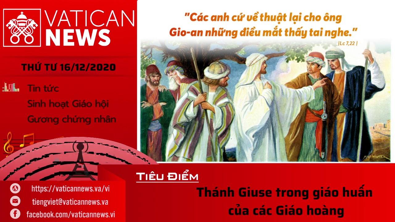 Radio: Vatican News Tiếng Việt thứ Tư 16.12.2020