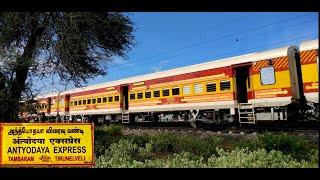 Tambaram To Tirunelveli | Complete Journey by India's Only Daily Antyodaya Express | Indian Railways