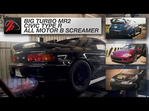 K20 MR2 Turbo, Civic Type R, and 200+ ALL MOTOR B Series Hit The Dyno