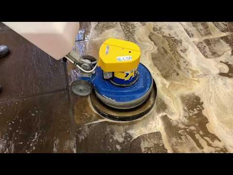 Flagstone Floor Cleaning In A 19th Century Gothic Tudor Mansion Margam Castle | CSB Floor Care