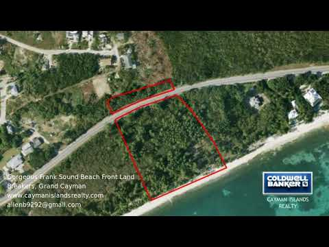 Cayman Islands Property - Gorgeous Frank Sound Beach Front Land