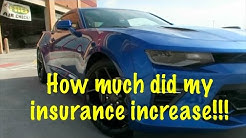 How Much Speeding Tickets Affect Your Car Insurance!!! My Experience