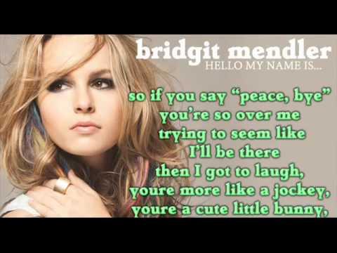 Bridgit Mendler - Forgot To Laugh (Full song HD) LYRICS + DOWNLOAD