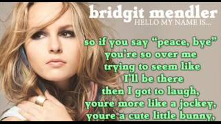 Bridgit Mendler - Forgot To Laugh (Full song HD) LYRICS + DOWNLOAD