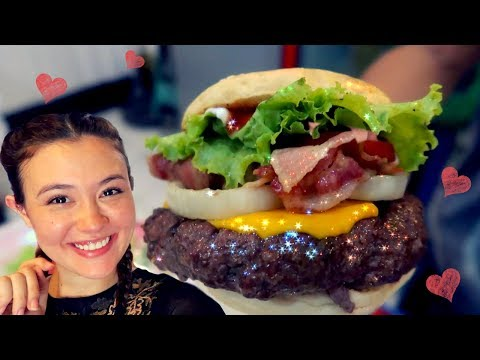 The World's Best Burger!! (Gunny's All American 300g Patty