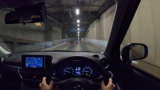 【Test Drive】 2019 Daihatsu CAST Activa SA 660cc 4WD - POV Night Drive