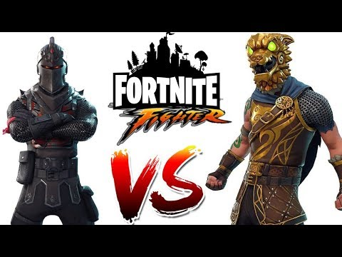 Fortnite Fighter - Black Knight Vs Battle Hound !