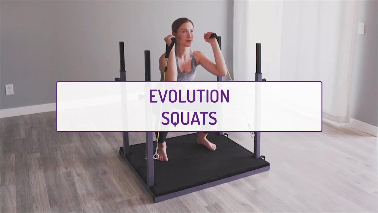 Home Exercises | Evolution Squats | Strength | Legs