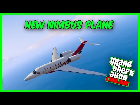 GTA 5 Online DLC - New 'NIMBUS'' Plane Showcase! (Finance & Felony DLC)
