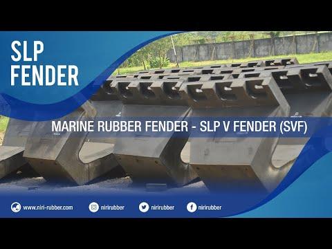Marine Rubber Fender - SLP V Fender (SVF)